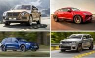 معرفی سریعترین خودرو های شاسیبلندهای جهان در سال 2018 + عکس